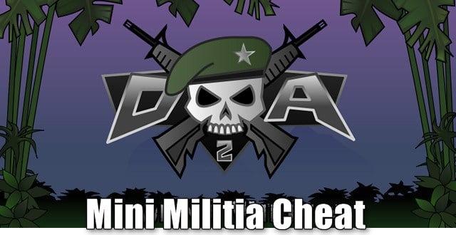 mini militia cheats